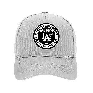 Boné Aba Curva Los Angeles Branco