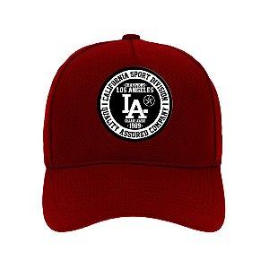 Boné Aba Curva Los Angeles Bordo