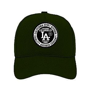 Boné Aba Curva Los Angeles Verde