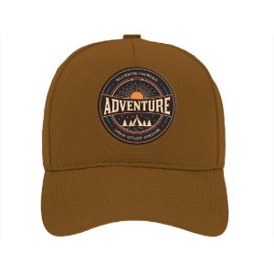 Boné Aba Curva Adventure Marrom