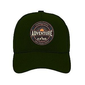 Boné Aba Curva Adventure Verde