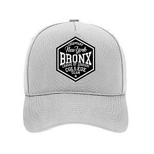 Boné Aba Curva Bronx Branco