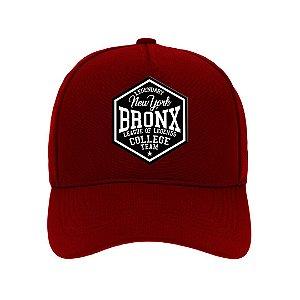 Boné Aba Curva Bronx Bordo