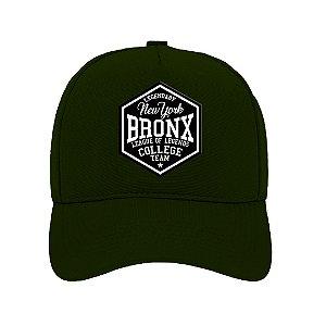 Boné Aba Curva Bronx Verde