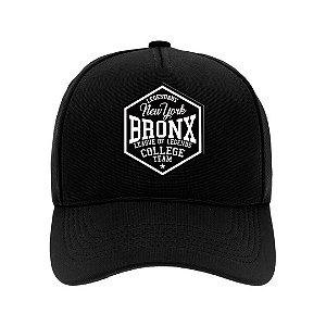 Boné Aba Curva Bronx Preto