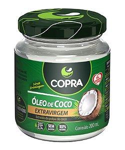 Oleo De Coco Extra-Virgem 200Ml Copra