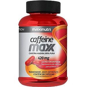 CAFFEINE MAXX 120CPS 620MG MAXINUTRI