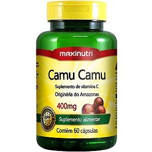 CAMU CAMU 60CPS 400MG MAXINUTRI