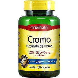 PICOLINATO DE CROMO 100% IDR 60CPS 250MCG MAXINUTRI