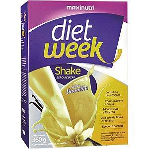 Shake Baunilha Diet Week 360G Maxinutri