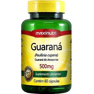 GUARANA 60CPS 500MG MAXINUTRI
