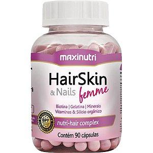 Hairskin Femme 90Cps 610Mg Maxinutri