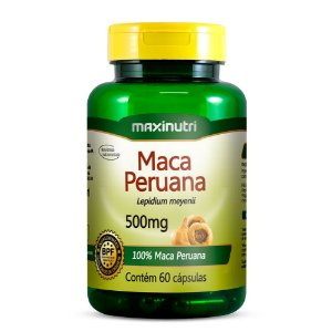 Maca Peruana 60Cps 500Mg Maxinutri