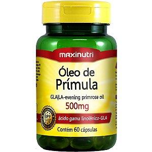 OLEO DE PRIMULA 60CPS 500MG MAXINUTRI