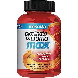 PICOLINATO DE CROMO MAXX 120CPS 35MCG MAXINUTRI