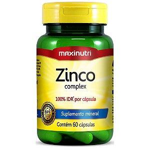 Zinco 60Cps 7Mg 100%Idr Maxinutri