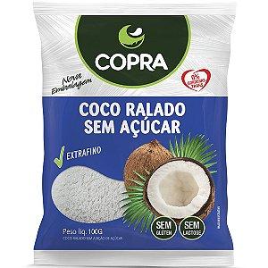 Coco Ralado Fino S/ Acucar 100G Copra