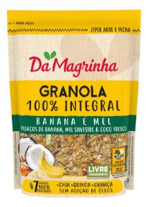 Granola Banana/Mel 250G Magrinha