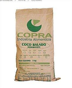 Coco Ralado Fino Padrão 5KG Copra