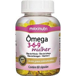 Omega Mulher 3 6 9 60Cps 1G Maxinutri