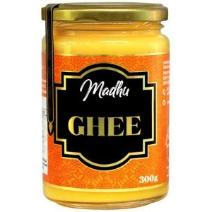 Manteiga Ghee Clarificada 300Ml Madhu Bakery
