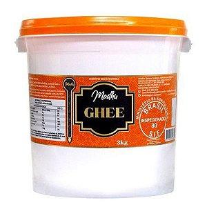 Manteiga Ghee Clarificada 3Kg Madhu Bakery