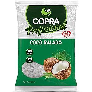 Coco Ralado Medio Padrao 1Kg Copra