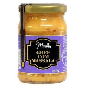 Manteiga Ghee Clarificada Massala 150Ml Madhu Bakery