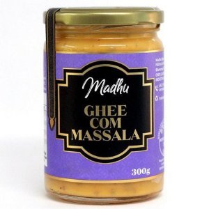 Manteiga Ghee Clarificada Massala 300Ml Madhu Bakery