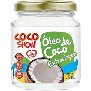 Oleo De Coco Coco Show Extra-Virgem 200Ml