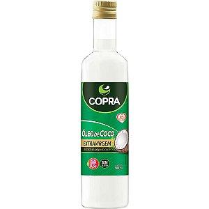 Oleo De Coco Extra-Virgem Garrafa 500Ml Copra