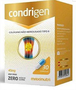 Condrigen Colageno Tipo Ii 30Cps Maxinutri