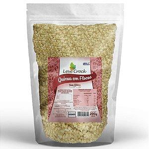Quinoa Flocos 200G Leve Crock