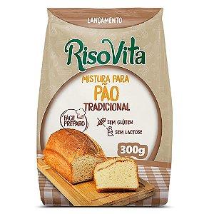 Mistura Pao Tradicional S/Gluten/Lactose 300G Risovita
