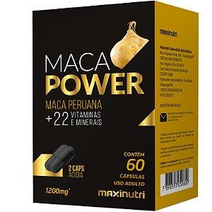 Maca Power Maca/Vit/Minerais 60Cps Maxinutri