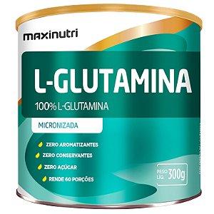 Glutamina 100% Pura 300G Maxinutri