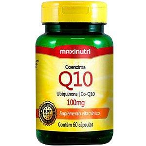Coenzima Q10 100Mg 60Cps Maxinutri