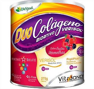 Duo Colageno Hid Verisol C/Minerais Quelatos Frutas Vermelhas 275G Katigua