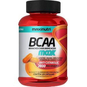 Bcaa Maxx 2800 120Cps 760Mg Maxinutri
