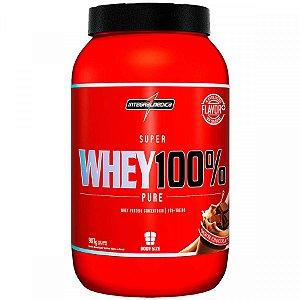 Super Whey 100% Pure Choc 907G Integralmedica