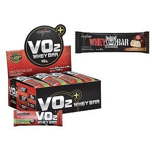 Vo2 Whey Bar Choc 24Un 30G Integralmedica