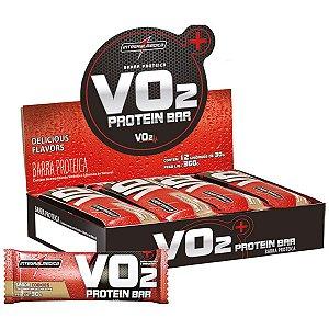 Vo2 Whey Bar Cookies 12Un 30G Integralmedica
