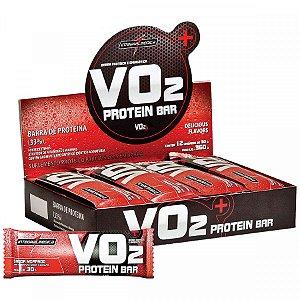 Vo2 Protein Bar Mor 12Un 30G Integralmedica