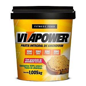Pasta De Amendoim Com Granulado 1,005Kg Vitapower