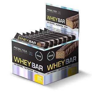 Whey Bar 12Un X 40G Ban Probiotica
