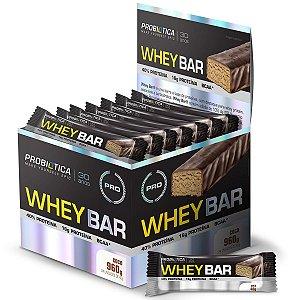 Whey Bar 24Un X 40G Coco Probiotica