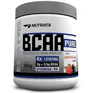 Bcaa Pure 300G Guarana/Acai Nutrata