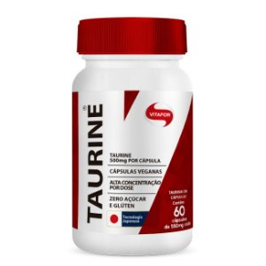 Taurine 60Cps 500Mg Vitafor