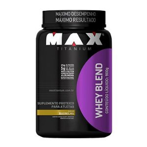 Whey Blend 900G Baun Max Titanium