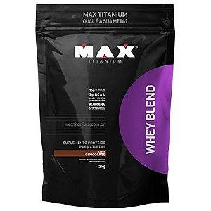 Whey Blend 2Kg Choc Max Titanium
